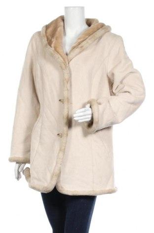 Дамско палто Jones New York, Размер L, Цвят Бежов, Полиестер, Цена 37,49лв.