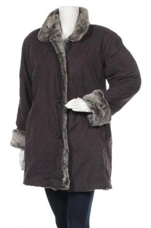 Дамско палто Jones New York, Размер M, Цвят Лилав, 90% полиестер, 10% полиамид, Цена 106,79лв.