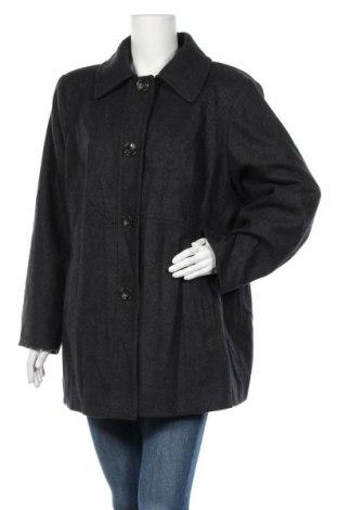 Дамско палто London Fog, Размер XL, Цвят Сив, 55% вълна, 35% полиестер, 5% акрил, 5% други материали, Цена 17,59лв.