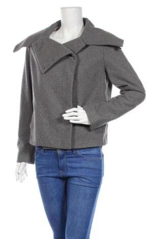 Дамско палто Mauro Grifoni, Размер L, Цвят Сив, 90% вълна, 10% кашмир, Цена 48,16лв.