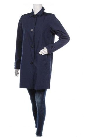 Дамско палто Vila, Размер M, Цвят Син, 80% полиестер, 20% памук, Цена 22,25лв.