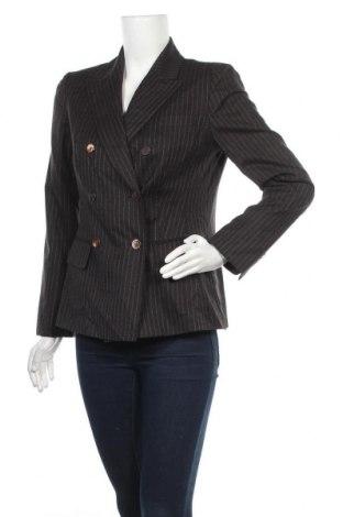 Дамско сако Brooks Brothers, Размер S, Цвят Кафяв, Вълна, Цена 28,67лв.