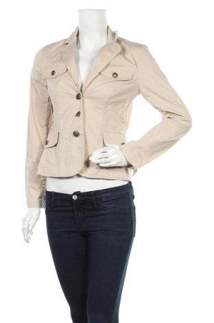Дамско сако Comma,, Размер S, Цвят Бежов, 96% памук, 4% еластан, Цена 18,06лв.
