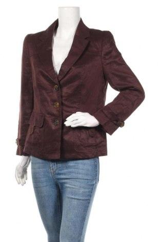 Γυναικείο σακάκι Escada Sport, Μέγεθος M, Χρώμα Καφέ, Λινό, Τιμή 56,31€