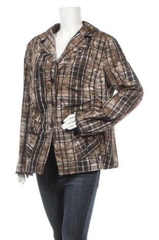 Дамско сако Frank Walder, Размер XL, Цвят Кафяв, Полиестер, Цена 4,52лв.