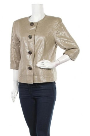 Дамско сако Gerry Weber, Размер L, Цвят Бежов, Лен, Цена 25,99лв.