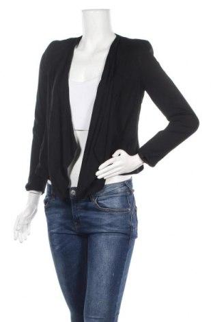 Дамско сако H&M, Размер S, Цвят Черен, Вискоза, Цена 7,09лв.