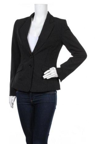 Дамско сако H&M, Размер S, Цвят Черен, 70% полиестер, 25% вискоза, 5% еластан, Цена 6,56лв.