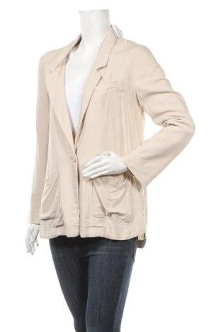 Дамско сако H&M, Размер M, Цвят Бежов, Вискоза, Цена 6,30лв.