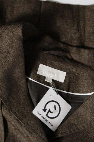 Дамско сако Hessnatur, Размер S, Цвят Кафяв, Лен, Цена 148,50лв.