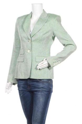 Дамско сако Joseph Janard, Размер S, Цвят Зелен, Лен, Цена 85,05лв.