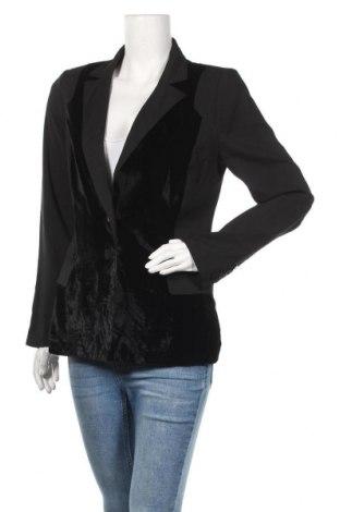 Дамско сако Karen by Simonsen, Размер M, Цвят Черен, Цена 22,05лв.