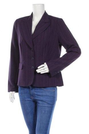 Дамско сако Laura Scott, Размер L, Цвят Лилав, 98% полиестер, 2% вискоза, Цена 8,32лв.