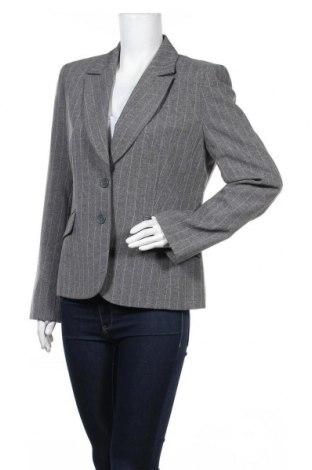 Дамско сако Miss H., Размер L, Цвят Сив, 97% полиестер, 3% вискоза, Цена 22,94лв.