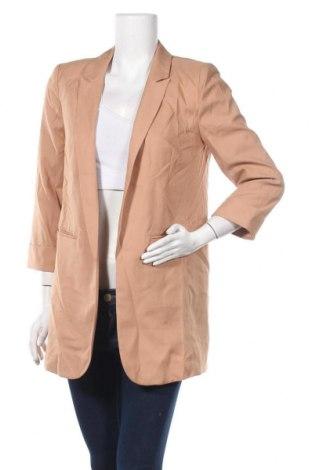 Дамско сако Missguided, Размер S, Цвят Бежов, 97% полиестер, 3% еластан, Цена 32,45лв.