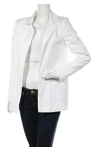 Дамско сако Missguided, Размер S, Цвят Бял, Цена 40,50лв.