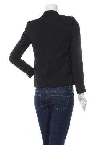 Дамско сако Promod, Размер XS, Цвят Черен, 97% полиестер, 3% еластан, Цена 15,84лв.