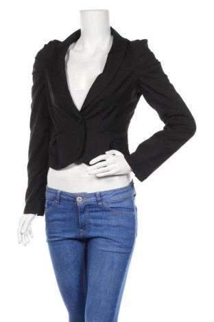 Дамско сако Sorbet, Размер S, Цвят Черен, 75% полиестер, 35% вискоза, Цена 7,69лв.