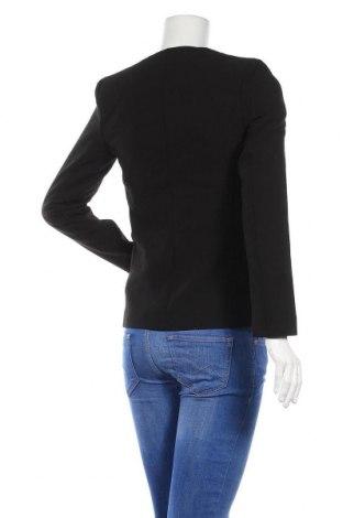 Дамско сако Top Secret, Размер S, Цвят Черен, 80% полиестер, 15% вискоза, 5% еластан, Цена 15,87лв.