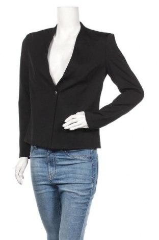 Дамско сако Top Secret, Размер S, Цвят Черен, 56% вискоза, 39% полиамид, 5% еластан, Цена 18,48лв.