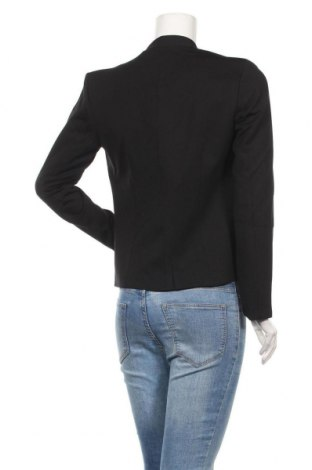 Дамско сако Top Secret, Размер S, Цвят Черен, 56% вискоза, 39% полиамид, 5% еластан, Цена 19,32лв.