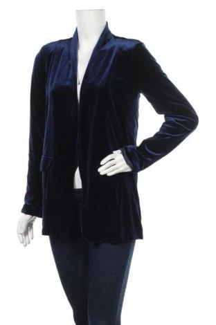 Дамско сако Top Secret, Размер M, Цвят Син, 95% полиестер, 5% еластан, Цена 19,32лв.