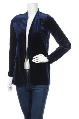 Дамско сако Top Secret, Размер XS, Цвят Син, 95% полиестер, 5% еластан, Цена 18,48лв.