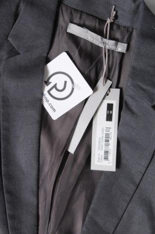 Дамско сако Yaya, Размер S, Цвят Сив, 56% лен, 43% вискоза, 1% еластан, Цена 104,25лв.