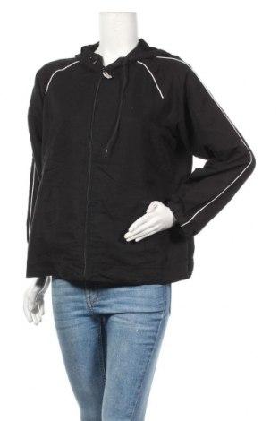 Γυναικεία αθλητική ζακέτα New York Laundry, Μέγεθος L, Χρώμα Μαύρο, Πολυεστέρας, Τιμή 8,19€