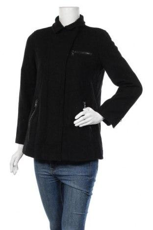 Дамско палто Banana Republic, Размер M, Цвят Черен, 55% вълна, 34% полиестер, 11% други тъкани, Цена 90,72лв.