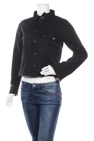 Γυναικείο μπουφάν DDP, Μέγεθος S, Χρώμα Μαύρο, 97% βαμβάκι, 3% ελαστάνη, Τιμή 20,77€