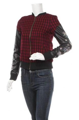 Дамско яке Glamorous, Размер XS, Цвят Червен, Памук, вълна, еко кожа, Цена 22,25лв.