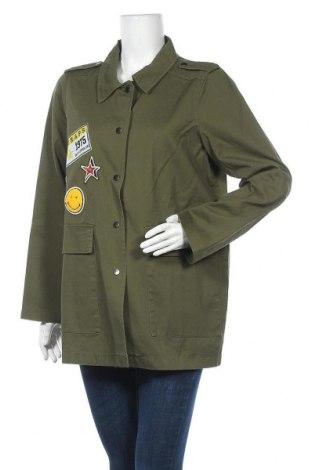 Дамско яке Vero Moda, Размер XL, Цвят Зелен, Памук, Цена 18,17лв.
