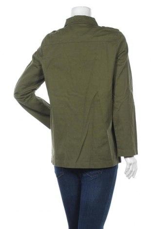 Дамско яке Vero Moda, Размер S, Цвят Зелен, Памук, Цена 18,17лв.