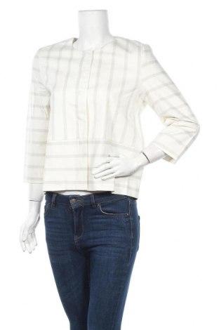 Дамско яке Yaya, Размер M, Цвят Бял, 97% памук, 3% еластан, Цена 20,50лв.