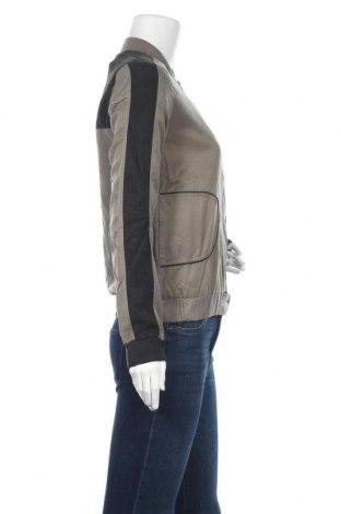 Дамско яке Yaya, Размер XS, Цвят Сив, 53% памук, 47% купро, Цена 33,47лв.