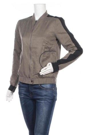Дамско яке Yaya, Размер S, Цвят Сив, 53% памук, 47% купро, Цена 33,47лв.