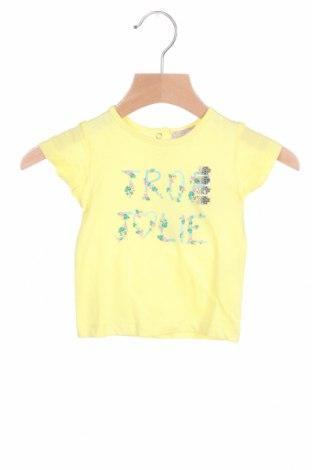 Παιδική μπλούζα Grain De Ble, Μέγεθος 1-2m/ 50-56 εκ., Χρώμα Κίτρινο, Βαμβάκι, Τιμή 6,20€