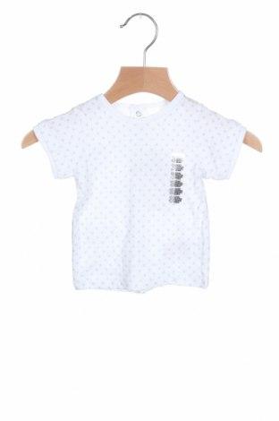 Παιδική μπλούζα Grain De Ble, Μέγεθος 1-2m/ 50-56 εκ., Χρώμα Λευκό, Βαμβάκι, Τιμή 6,20€