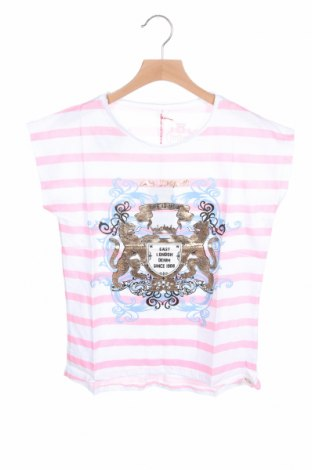 Детска блуза Lee Cooper, Размер 10-11y/ 146-152 см, Цвят Бял, Памук, Цена 13,76лв.