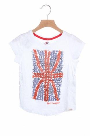 Детска блуза Lee Cooper, Размер 4-5y/ 110-116 см, Цвят Бял, Памук, Цена 12,16лв.