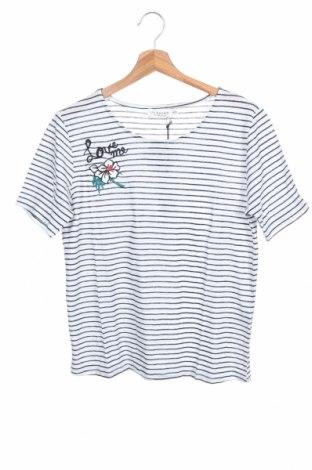 Παιδική μπλούζα Molly Bracken, Μέγεθος 15-18y/ 170-176 εκ., Χρώμα Λευκό, 41% λινό, 39% βαμβάκι, 20% πολυεστέρας, Τιμή 14,43€