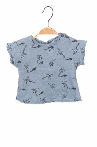 Детска блуза Play Up, Размер 2-3m/ 56-62 см, Цвят Син, Памук, Цена 7,00лв.