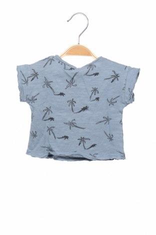 Детска блуза Play Up, Размер 2-3m/ 56-62 см, Цвят Син, Памук, Цена 21,00лв.