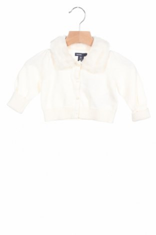 Παιδική ζακέτα Gap Baby, Μέγεθος 3-6m/ 62-68 εκ., Χρώμα Εκρού, Βαμβάκι, Τιμή 21,82€