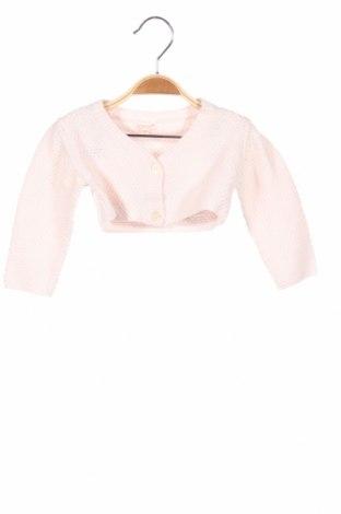 Παιδική ζακέτα Gocco, Μέγεθος 12-18m/ 80-86 εκ., Χρώμα Ρόζ , 60% βαμβάκι, 40%ακρυλικό, Τιμή 6,32€