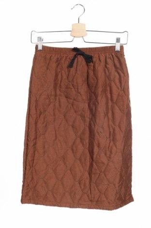 Παιδική φούστα, Μέγεθος 13-14y/ 164-168 εκ., Χρώμα Καφέ, Πολυεστέρας, Τιμή 6,37€