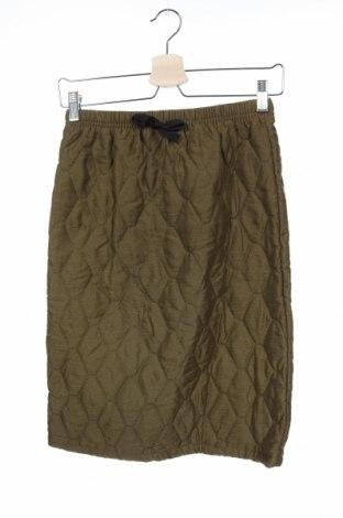 Παιδική φούστα, Μέγεθος 11-12y/ 152-158 εκ., Χρώμα Πράσινο, Πολυεστέρας, Τιμή 6,37€