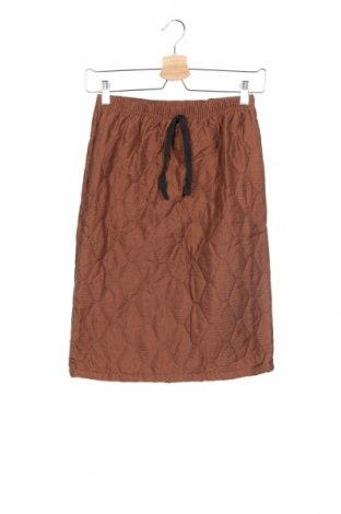 Παιδική φούστα, Μέγεθος 11-12y/ 152-158 εκ., Χρώμα Καφέ, Πολυεστέρας, Τιμή 8,18€
