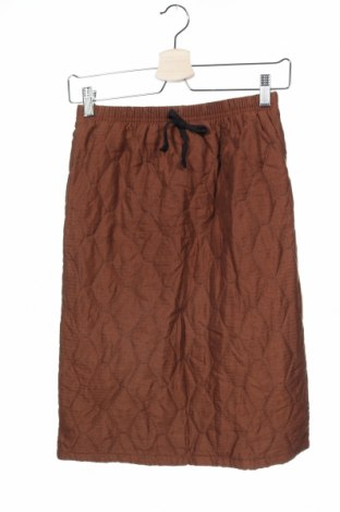 Παιδική φούστα, Μέγεθος 11-12y/ 152-158 εκ., Χρώμα Καφέ, Πολυεστέρας, Τιμή 5,00€
